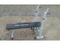 weight bench, fully ajustable.good condition.