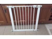 Safety stair gate