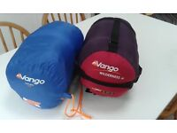 Two Junior Sleeping Bags