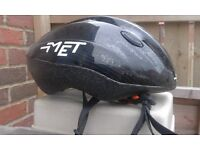 Cycle Helmet and hi viz jacket
