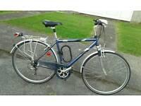 Raleigh pioneer 160 hybrid town, mountain bike
