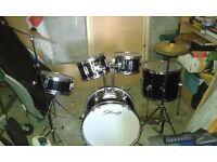 """7 piece """"Stagg"""" junior drum kit"""