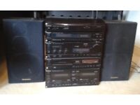 TECHNICS STEREO MUSIC CENTRE, with many parts, great condition