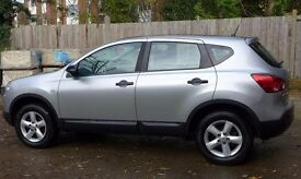 Nissan 2009 Qashqai 1.6 Visia 2WD Petrol. Low Mileage, Silver, Cat D. One Door Replaced.