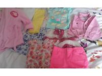 bag of girls 2-4 years clothes