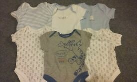3-6 month boys bodysuits