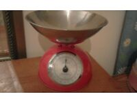 Terrallion beautiful red kitchen scales