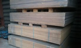FULL SHEETS OF GIANT SHELVING WOOD, CHIPBOARD 2.2m X 1.5m X 18mm FULL BOARDS, SHEETS 800 AVAILABLE