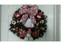 Beautiful hand made Christmas wreath