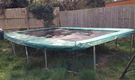 17' X 12' rectangular Skyhigh trampoline