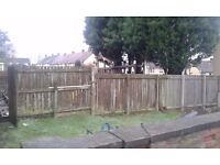 Fences x 3