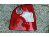 Volkswagen 1.4 FSI back lights
