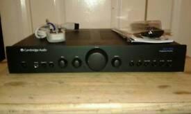 Upgraded Cambridge Audio azur 340a amplifier
