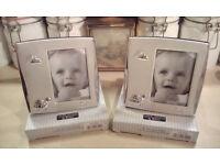Pair of Baby Photoframes