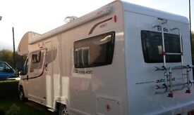 New 4 - 6 berth campervan for hire £750 p.w or £120 p.day, Min 2 days hire