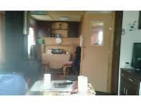 34 foot static caravan £1600 per year