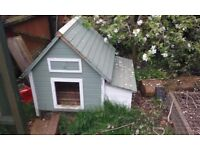 Chicken coop and accessories