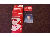 35 Vodafone + 1 O2 + 1 Virgin Sim cards all new and sealed and long expiry 2018 date.