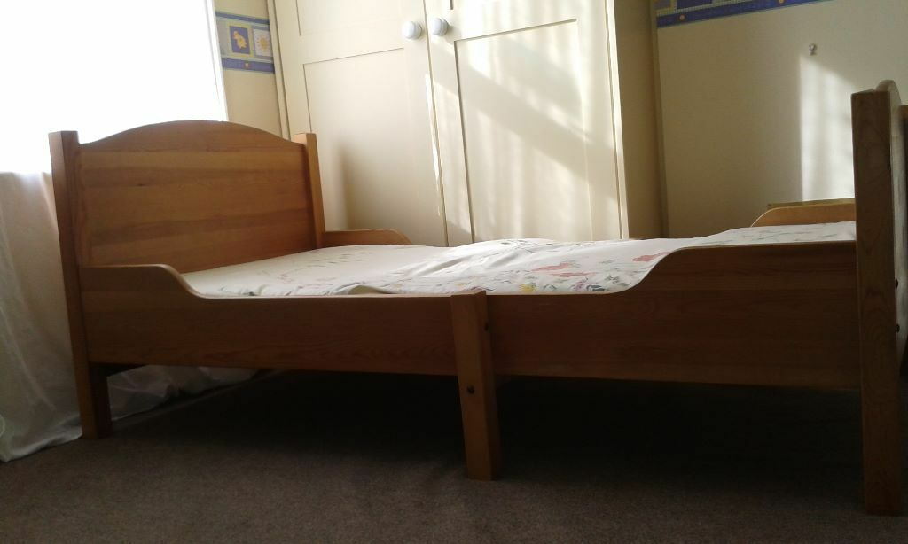 ikea ateles extendable bed for sale in bournemouth. Black Bedroom Furniture Sets. Home Design Ideas