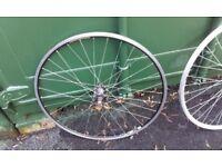 track bike front wheel 700c - formula / exal st17