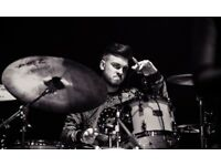 Experienced drums teacher available