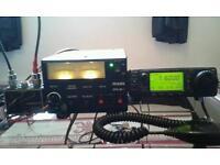 Icom 706 mrk1 mass 30amp power supply diamond 2mtr-70cm antennas