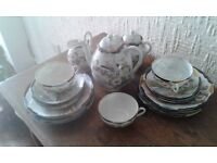 Japanese/Chinese fine porcelain tea set