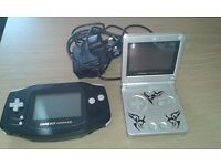 Game boy and Game boy advance