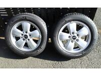 "GENUINE BMW Mini F55/56/57 15"" Heli Spoke Alloy wheels to fit 3rd generation One and Cooper"
