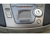 Panasonic stereo for Parts only- free to collector