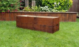 Solid Wooden Garden Planter