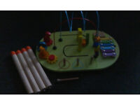 Buy Chad Valley Wooden Activity Table   Early learning toys
