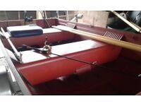 14 ft aluminium open boat