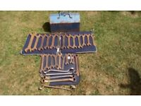 Large selection of various spanners