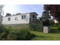 FOR SALE (TO RENT) IN SOUTH AYRSHIRE; LUXURY (38ft x 12ft) VICTORY WOODLAND VUE CARAVAN (SLEEPS 6)