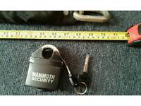 Mammoth chain and city security chains locks