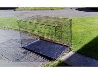 XL dog crate 2 doors