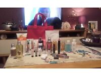 Bag of GOOD QUALITY beauty products. Never Used. Great Bargain!