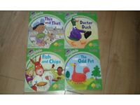 Songbirds Phonics Collection by Oxford Reading Tree - set of 4 books GREAT CONDITION - REDUCED TO £3