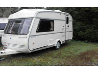 vintage classic retro castleton caravan
