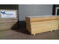 1 PALLET 21 x 40 MM +12.5 THERMAL INSULATED PLASTERBOARD Recticel Kingspan Sheet Board