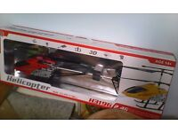 Big rc helicoppter (new never used)