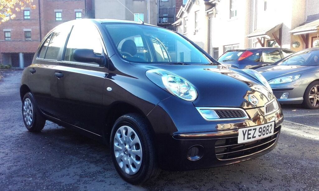 2009 nissan micra visia 1.2 petrol f/s/h only 50000miles