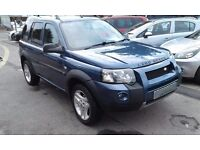 2005/55 LAND ROVER FREELANDER 2.0 TD4 HSE STATION WAGON STUNNING LOOKS ALLOY WHEELS, PRIVACY GLASS