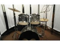 Retired drum teacher has a CB drum kit complete with upgraded cymbals for sale.