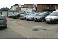 3 GARAGES AND PRIVATE YARD TO RENT. WITH 24HRS. ACCESS. RIGHT BEHIND HIGH ST. SHOPS