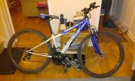 "Mountain bike 26"" blue (punctured)"
