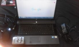 HP laptop with all the leads and extras great laptop