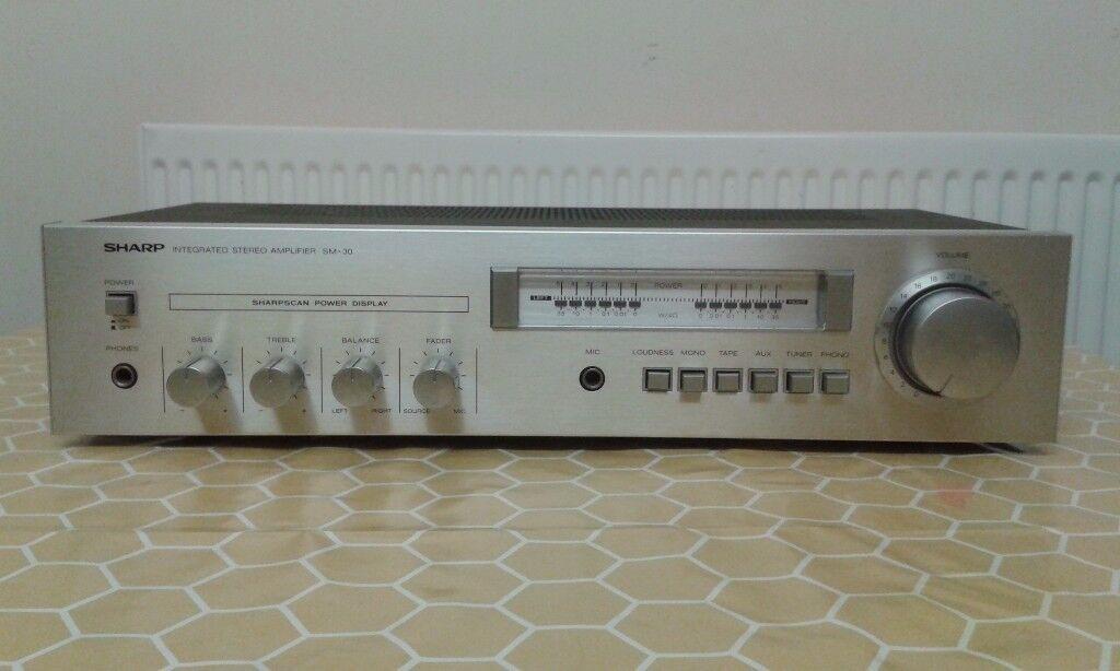 Sharp amplifier.