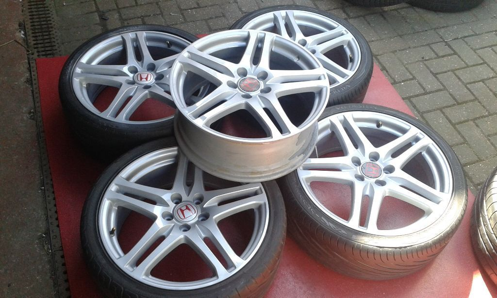 genuine 19 honda civic type r integra rage alloy wheels. Black Bedroom Furniture Sets. Home Design Ideas